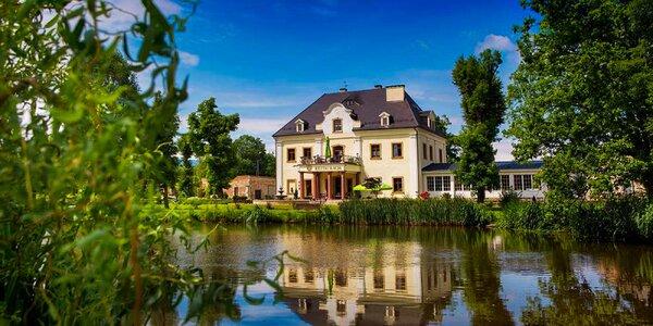Zámek v Polsku: polopenze i neomezený wellness