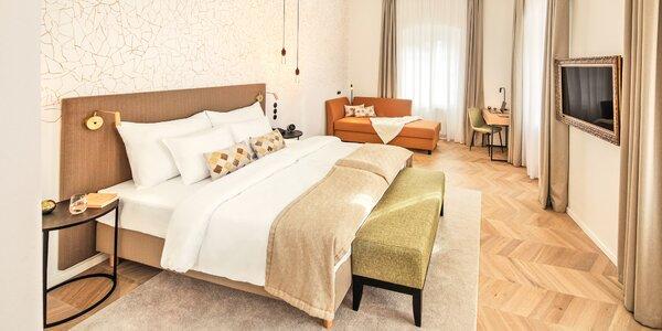 Romantika v krásném hotelu v srdci Českého Krumlova