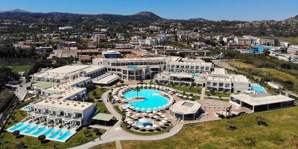 5* hotel s all inclusive blízko pláže Faliráki