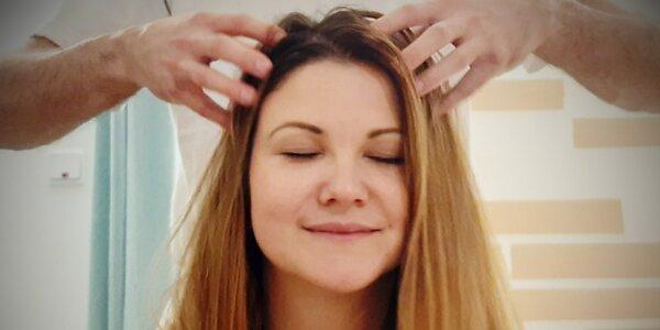 Manuální lifting obličeje a indická masáž hlavy