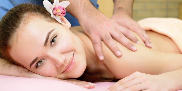Hodinová masáž s péčí o pleť v Royal Jasmine Spa