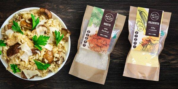 Prémiové směsi na rizota, špaldota i mléčné rýže
