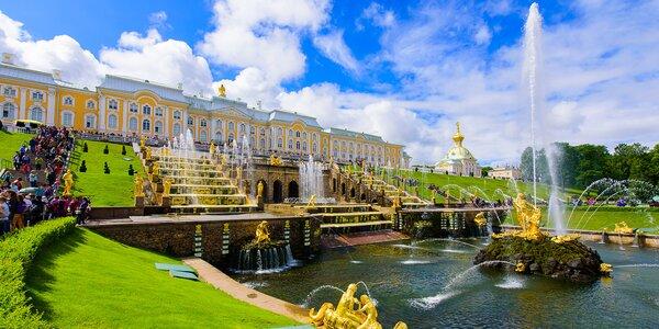 Zájezd do Petrohradu: letenky, ubytování i program