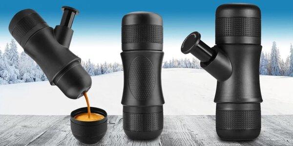 Přenosný ruční kávovar na espresso