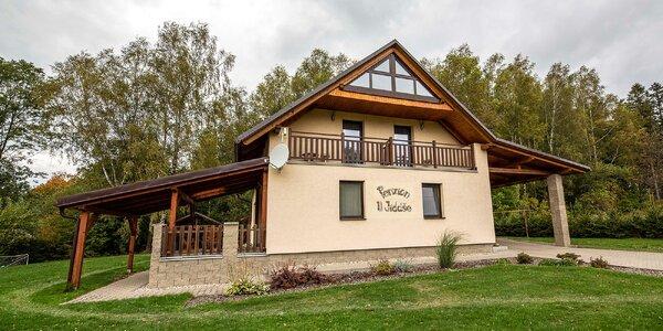 Moderní apartmány s polopenzí u Pekla Čertovina