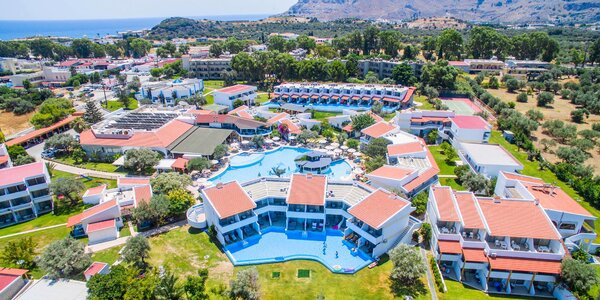 Rhodos Kolymbia all inclusive: 5* spa resort u pláže