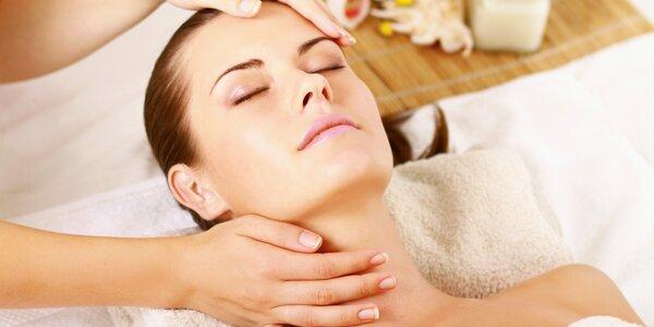 Kosmetické ošetření vč. peelingu a pleťové masky