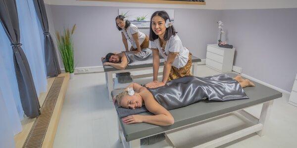Luxusní masáže pro pár v Diamond Spa