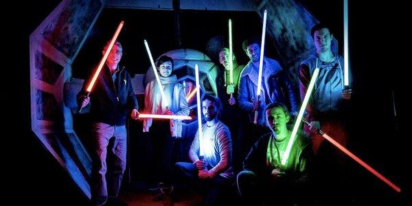 Ovládněte Sílu: lekce šermu se světelným mečem