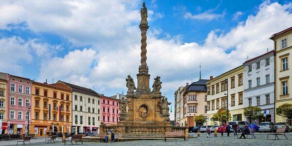 Romantický i rodinný pobyt v Olomouci s polopenzí