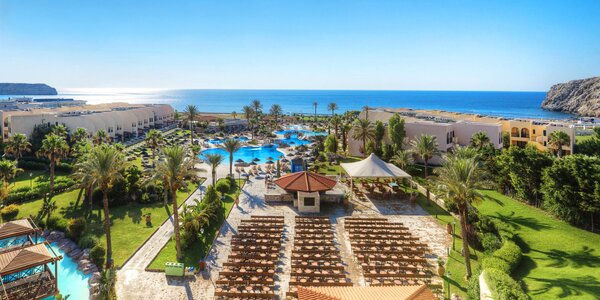 Rhodos pro rodiny: 5* resort, all inclusive i aquapark