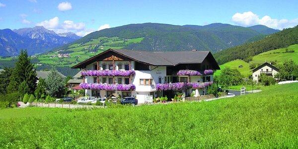 Dovolená v jižním Tyrolsku s polopenzí a wellness