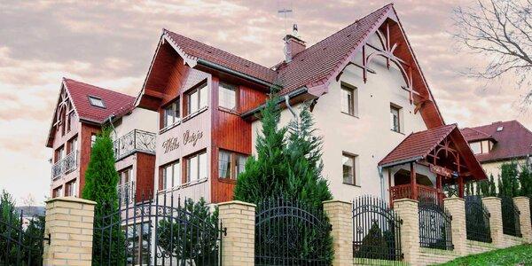 Vila v polských Jizerkách: jídlo, sauna i vířivka