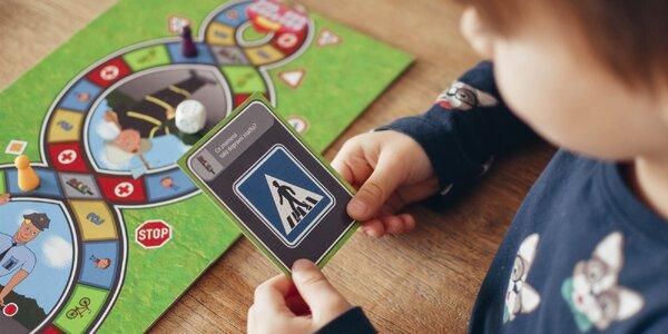 Desková hra Vzhůru do provozu! pro děti od 6 let