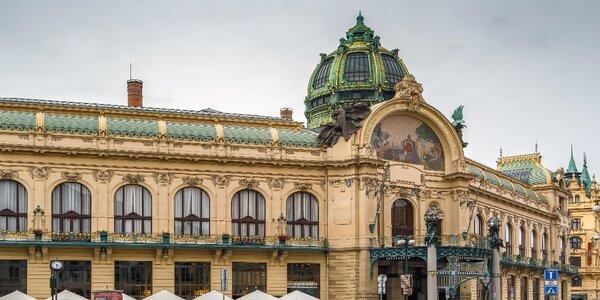 Strauss, Mozart, Dvořák a balet v Obecním domě