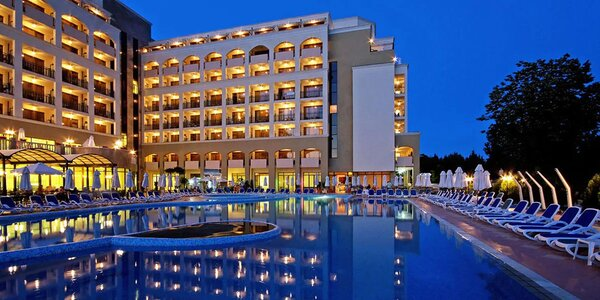4* hotel v Nesebaru. All inclusive i aquapark