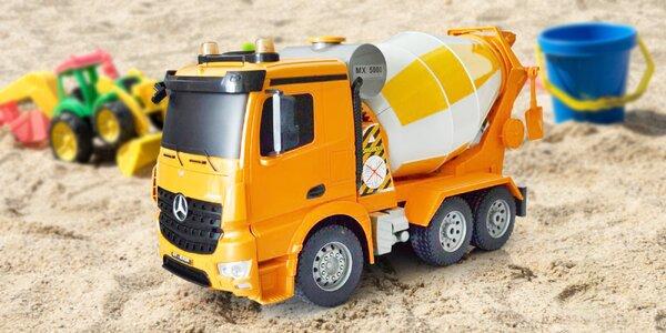 Míchačka Mercedes-Benz na dálkové ovládání