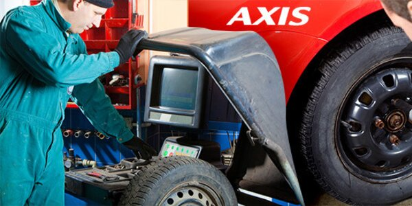 Přezutí pneumatik v autoservisu AXIS