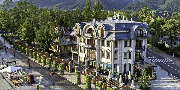 Luxusní hotel v Zakopaném i romantická večeře