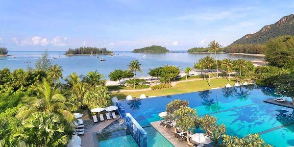 5* The Danna Langkawi Resort s polopenzí