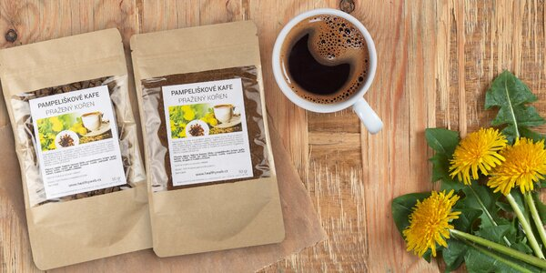 Zdravé bezkofeinové kafe z kořene pampelišky