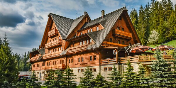Horský hotel blízko hranic a neomezeným wellness