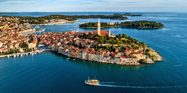 Dovolená na Istrii: apartmány u moře až na 8 dní