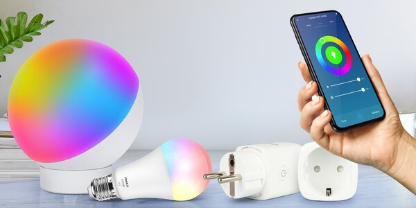 Chytré lampy a žárovky Umax U-Smart Wi-Fi