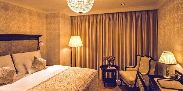 Honosný hotel v centru Jindřichova Hradce