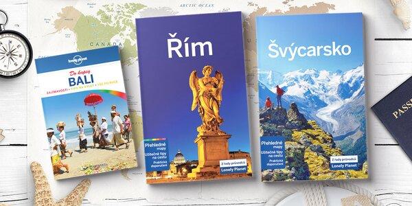 Průvodce Lonely Planet: Evropa, Amerika i exotika