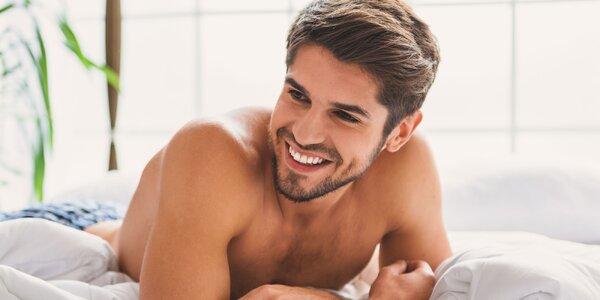 Hodinové kosmetické ošetření pro muže