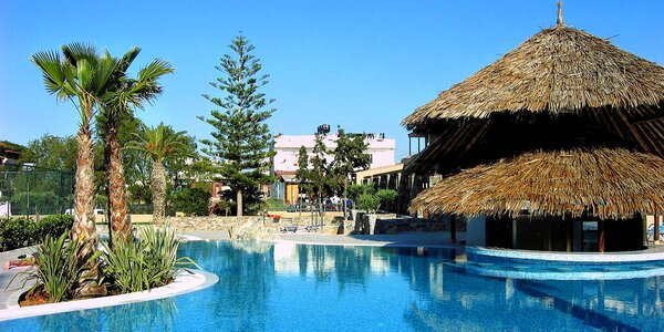Kréta all inclusive. 4* beach hotel blízko Heraklionu