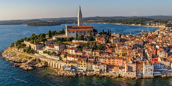 Až 8denní dovolená na Istrii: apartmán pro 2–4 os.