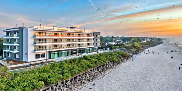 Dovolená u Baltu: 4* hotel na pláži, jídlo, wellness
