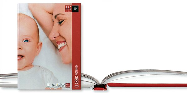 Fotokniha šitá nití ve formátu A4