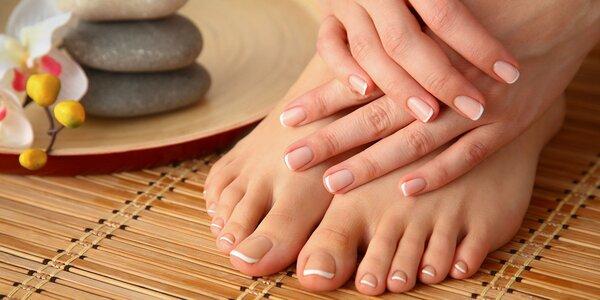 Krásné a zdravé nehty: balíček pedikúry a manikúry