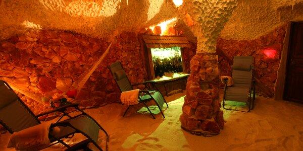 Solná jeskyně: 1 vstup i permanentka na měsíc
