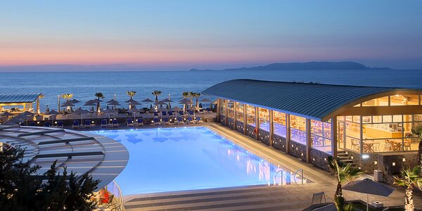 4* resort u pláže v Kokkini Hani s all inclusive