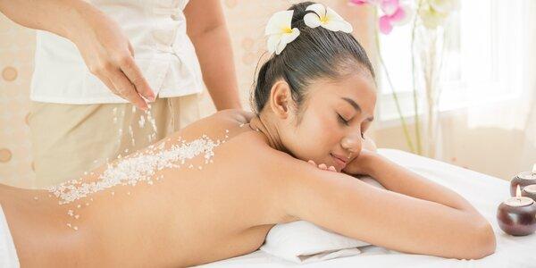 Poctivá 30–60min. olejová masáž a peeling zad
