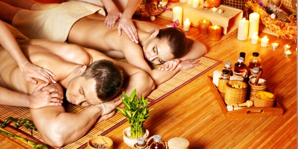 Relax pro 2 v Opavě: Thajská párová olejová masáž