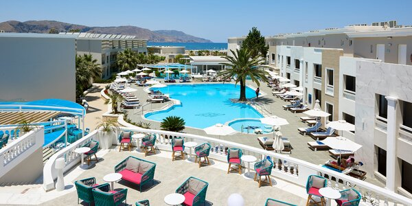 Nekonečná pláž Kavros. 4*+ spa resort, all inclusive