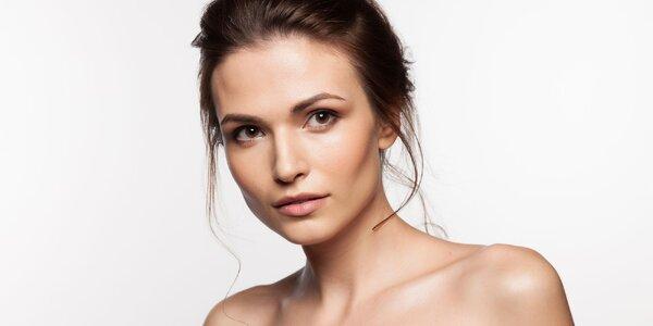 Vyživující kosmetická péče o pleť či trvalá na řasy