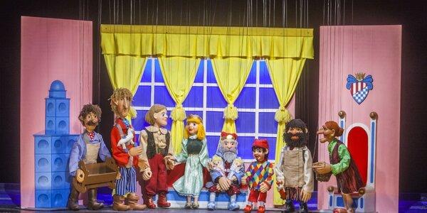 Loutkové představení Kašpárek a Ježibaba