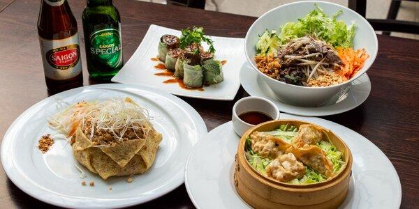 Voucher v hodnotě 250 i 500 Kč na asijská jídla
