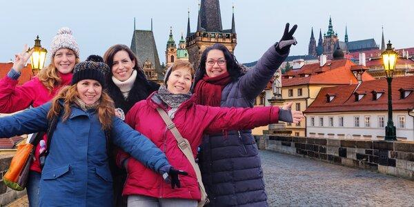 Pikantní procházka Prahou jen pro velké holky