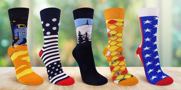 Designové ponožky Moravec: rozverné i seriózní