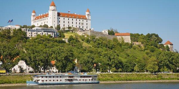 Luxusní ubytování v Bratislavě s výhledem na Dunaj