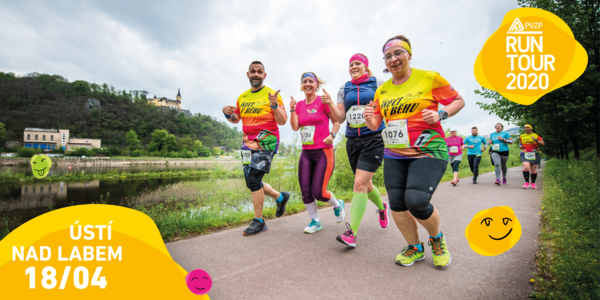 RunTour 2020: startovné v Ústí nad Labem