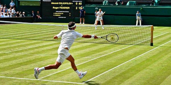 Letecký zájezd na Wimbledon: vstupenka a 4* hotel