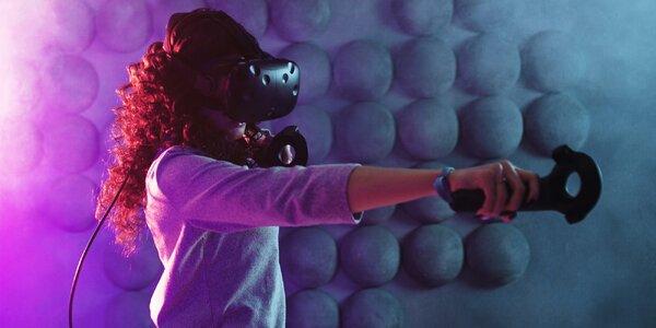 1 hod. ve virtuální realitě až pro 3 osoby